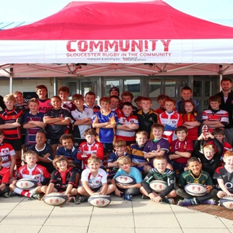 Gloucester Rugby's Premiership Rugby Academy Camp