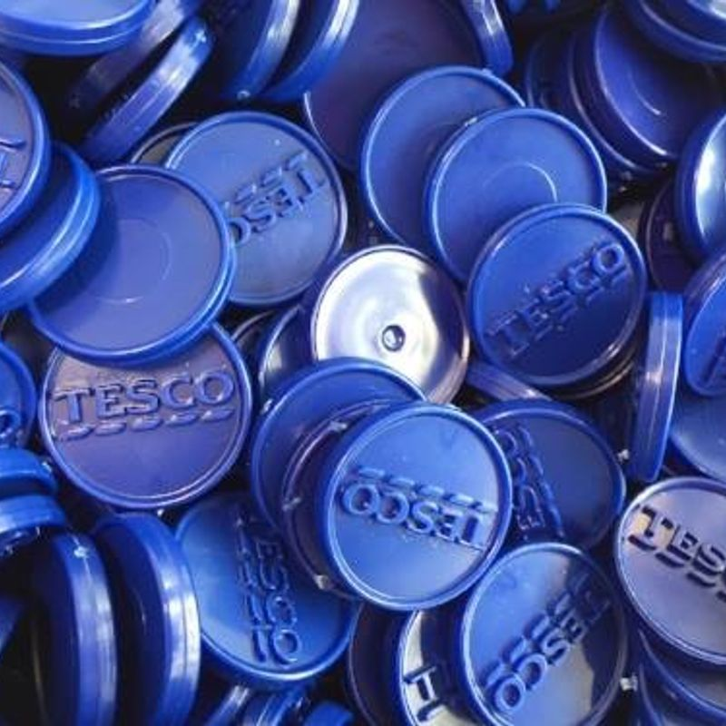 Tesco blue tokens