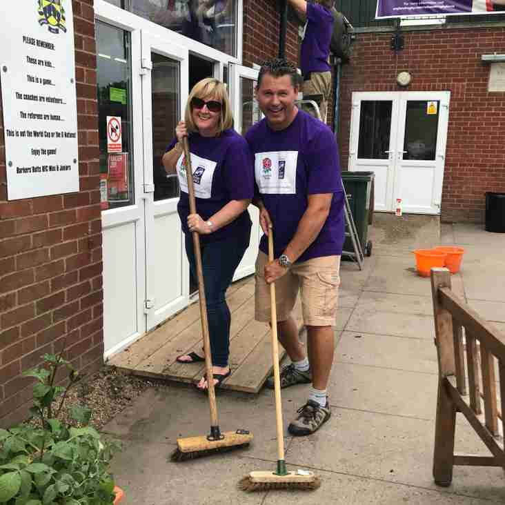 Barkers 'Nat West Tidy Up' Sun 24 June, 10am - 2pm - Everyone needed...
