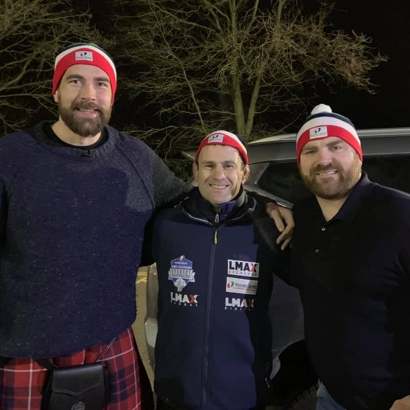 Former players dig deep for local charity!