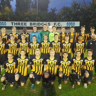 Three Bridges U18s  1 - 2  Eastbourne Town U18s