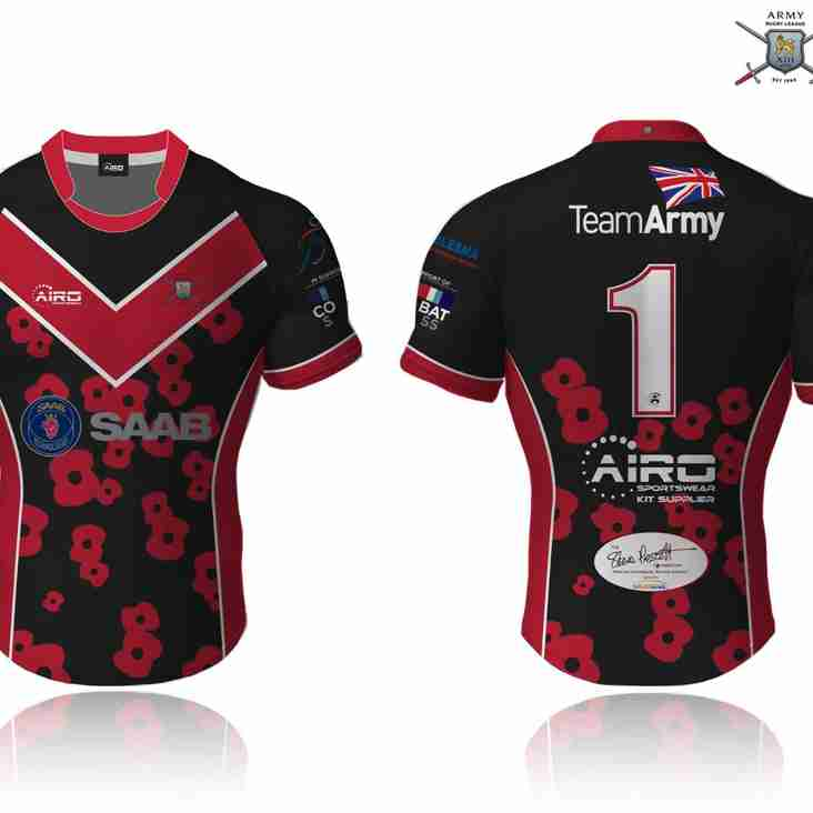 New Army RL Veterans' shirt now on sale