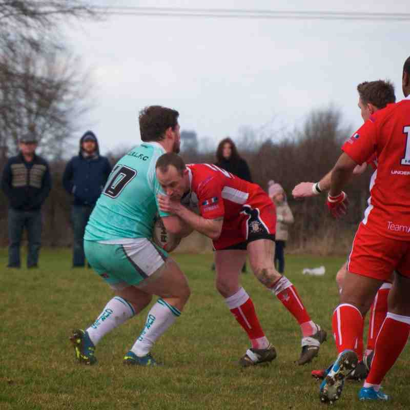 21 Feb 15 - CURLFC v Army RL Veterans