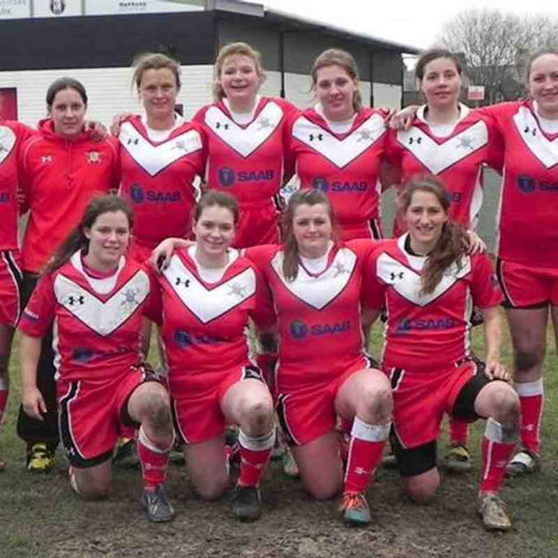Army RL Women at the Thatto Heath 9s 16 Mar 15