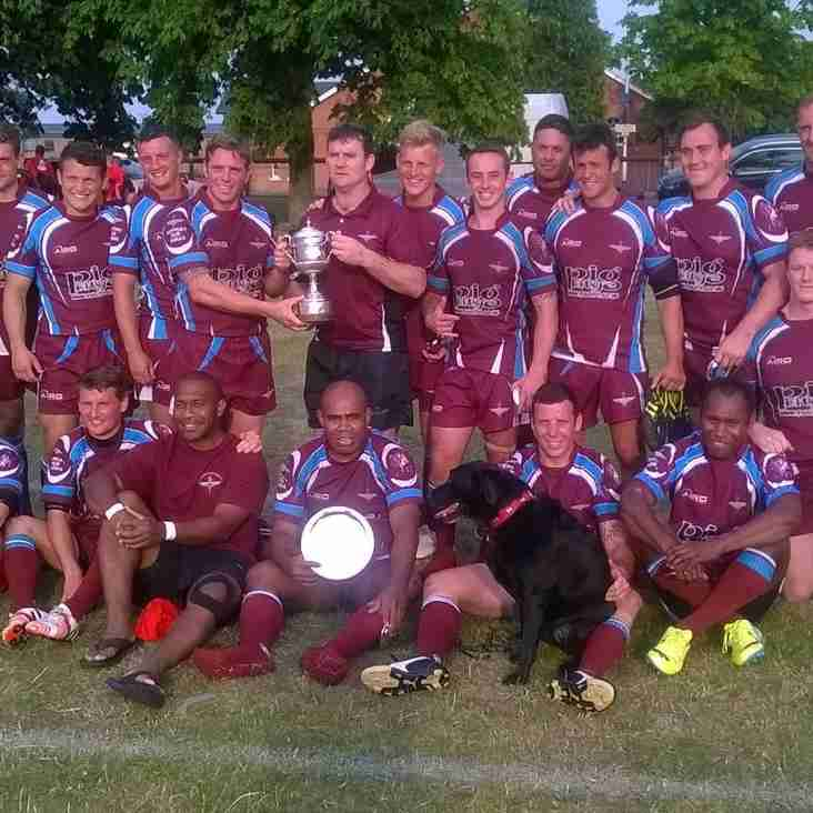 The Parachute Regiment win the Yeoman Cup