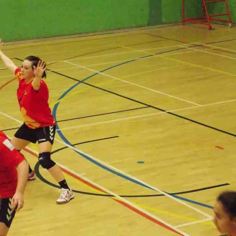 Oxford University Handball v Medway Dragons 29 Nov 15