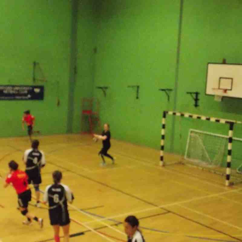 Oxford University Handball v Medway Dragons 29 Nov 15