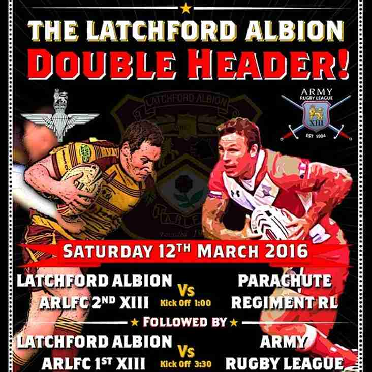 The Latchford Albion Double Header