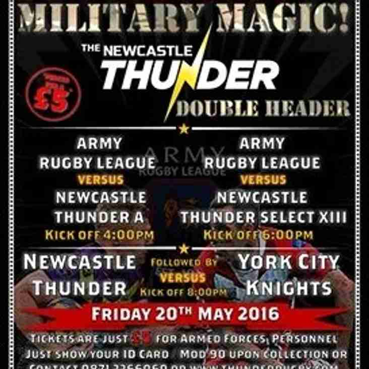 It's a military Magic Weekend!