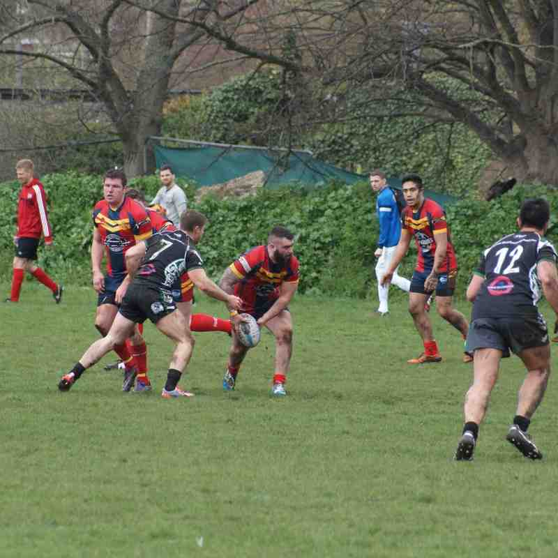 Wests Warriors v Medway Dragons 16 Apr 16