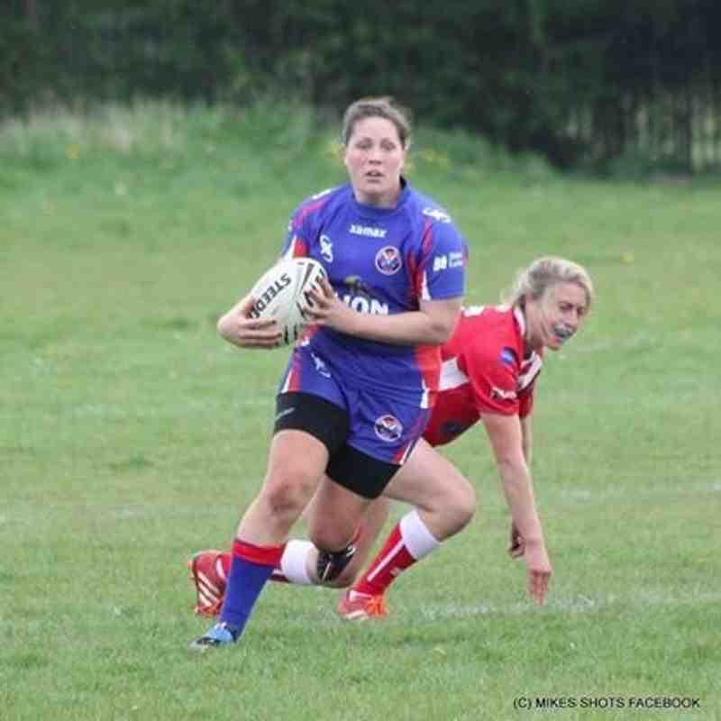 Selby Warriors v Army RL (W) 08 May 16