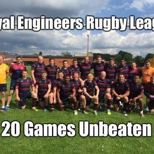 20 Games Unbeaten!