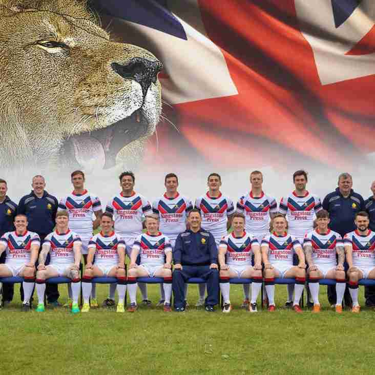 Army RL players and staff named in UKAF RL World Cup Squad