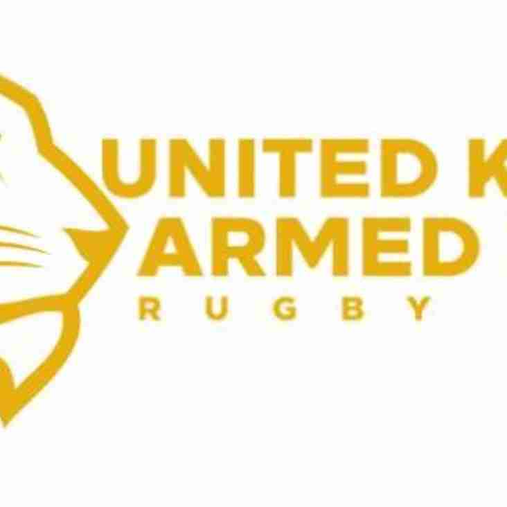 UK Armed Forces RL Training Squad named