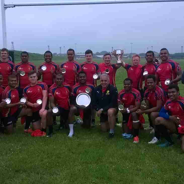8 Trg Bn REME win the Naivalurua Cup
