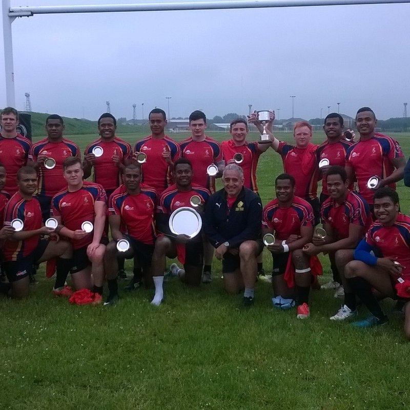 8 Trg Bn REME win the Naivalurua Cup