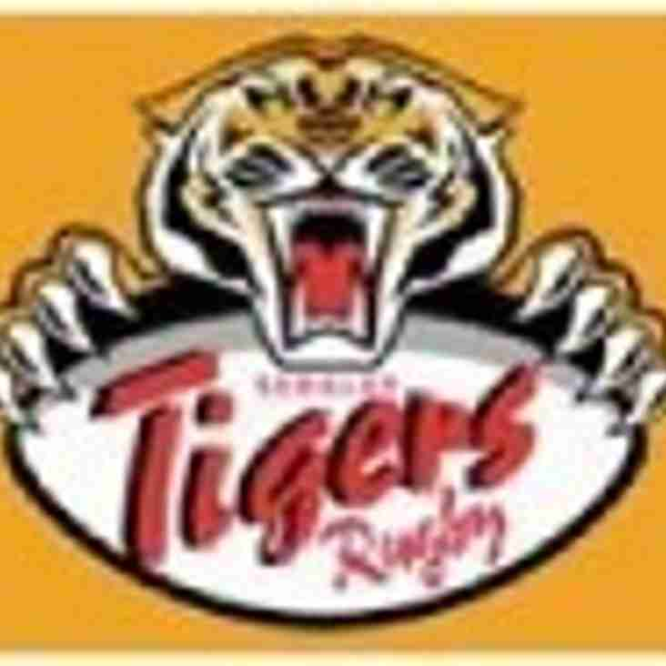 A SWITCH OF VENUE FOR TIGERS TWOS GAME TOMORROW