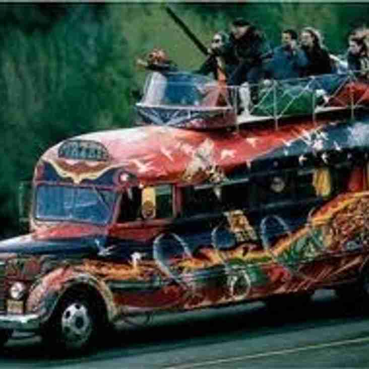 CLARET & GOLD BUS VS PRESTON
