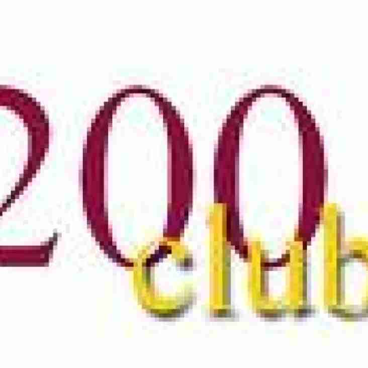 AUGUST WINNERS OF 200 CLUB