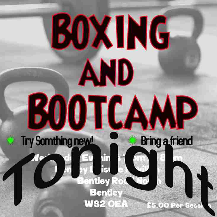 Ladies Boxing and Bootcamp Class TONIGHT