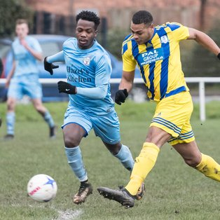 Darlaston beat the conditions and a poor pitch to secure three points at Telford Juniors