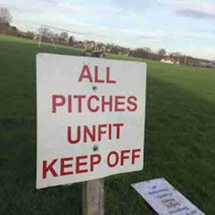 Darlastons match at Newport Town is OFF