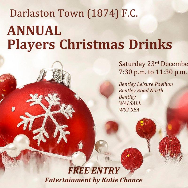 Players Christmas Drinks Announced
