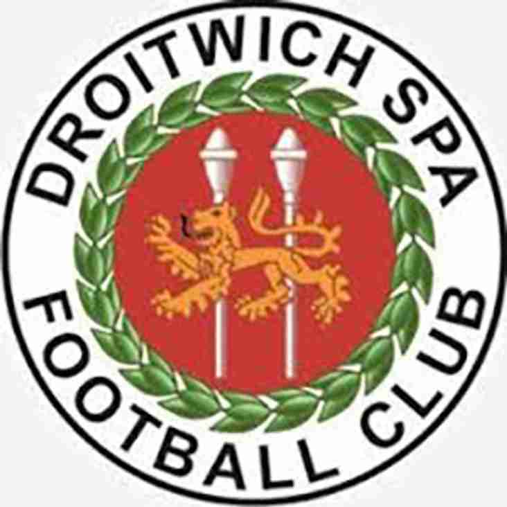 Tomorrow afternoon sees a massive game against League Leaders Droitwich Spa