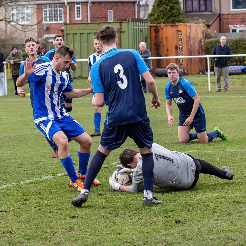 Darlaston's winning form continues as Telford are sent packing