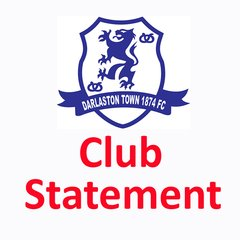 Darlaston Town (1874) Official Club Statement