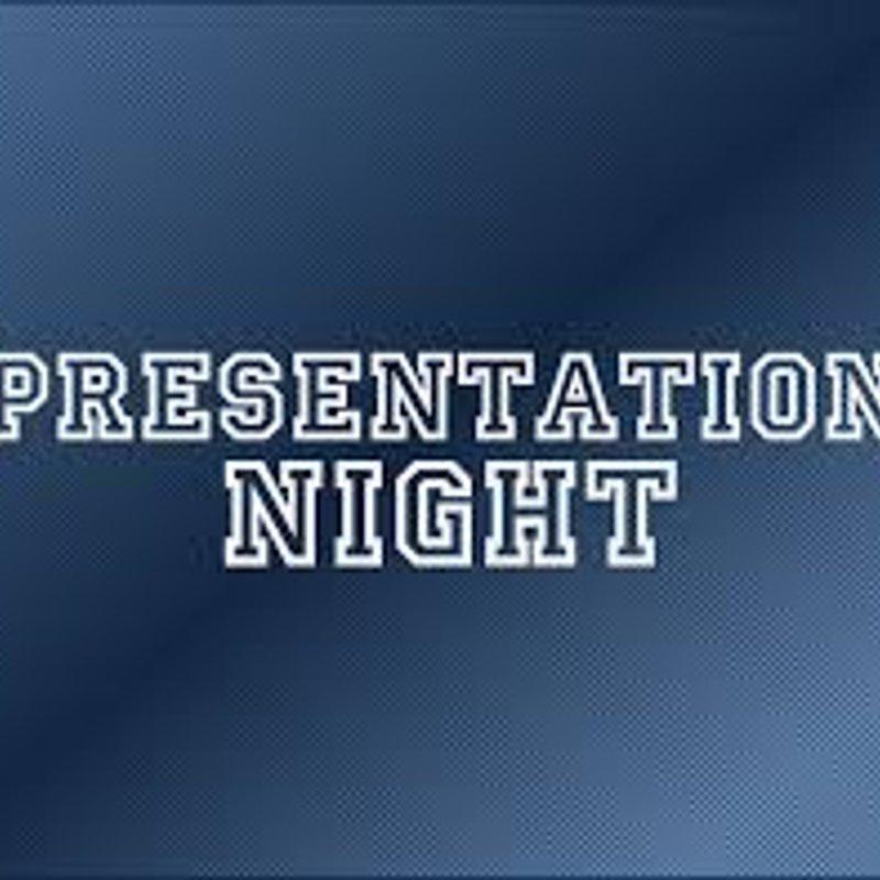 Presentation Night Season 2017/18