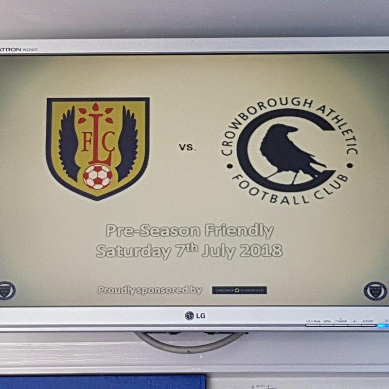 Reflection: Lancing 2 - 1 Crowborough Athletic