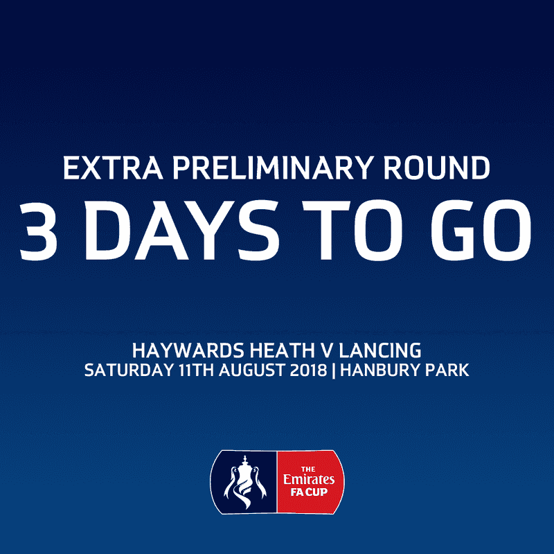 The Emirates FA Cup: Haywards Heath vs Lancing