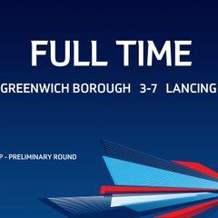 The Emirates FA Cup: Greenwich Borough vs Lancing