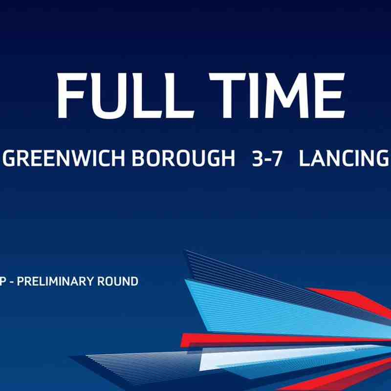The Emirates FA Cup: Greenwich Borough vs Lancing
