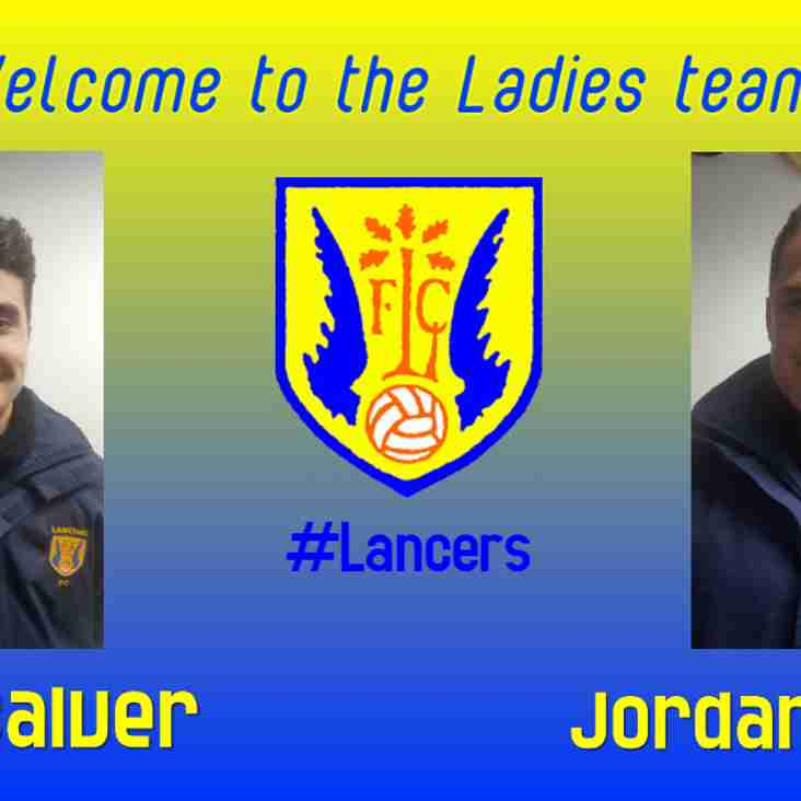 New additions to our Ladies team!