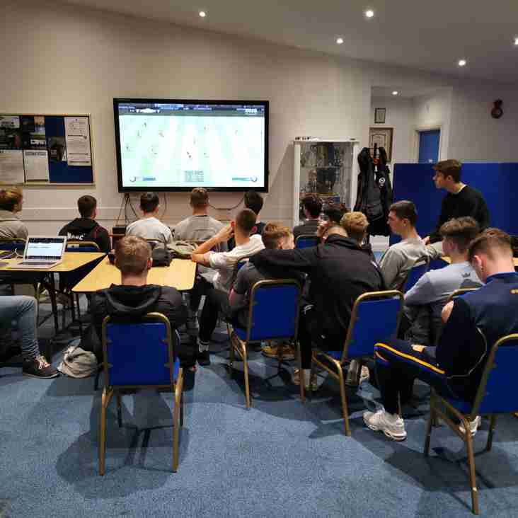 Great social night for Under-18s squads