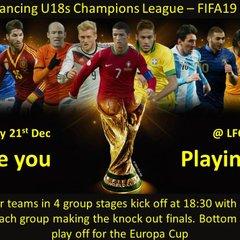 Under-18s FIFA 19 night