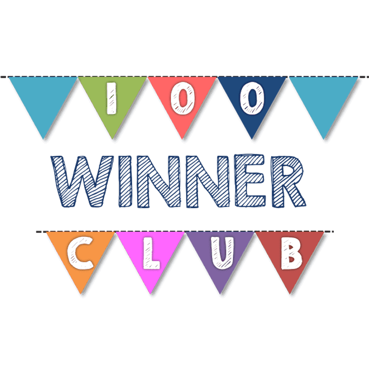 100 Club: January Winners