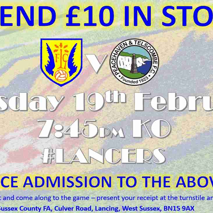 Lancing FC Sponsor's Night