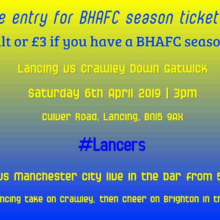 Half Price BHAFC Season Ticket Holders