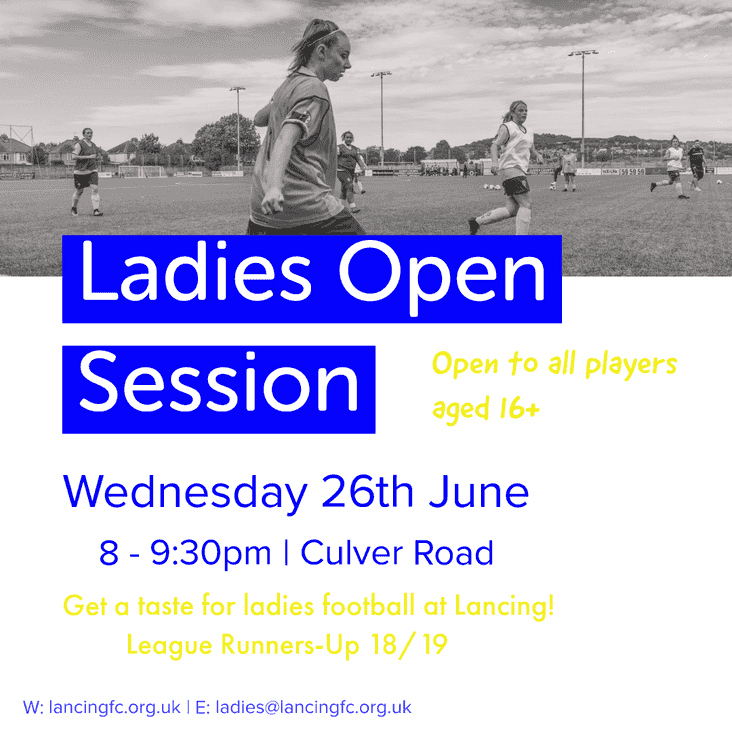 Ladies Open Session