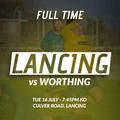 Lancing 2 - 1 Worthing