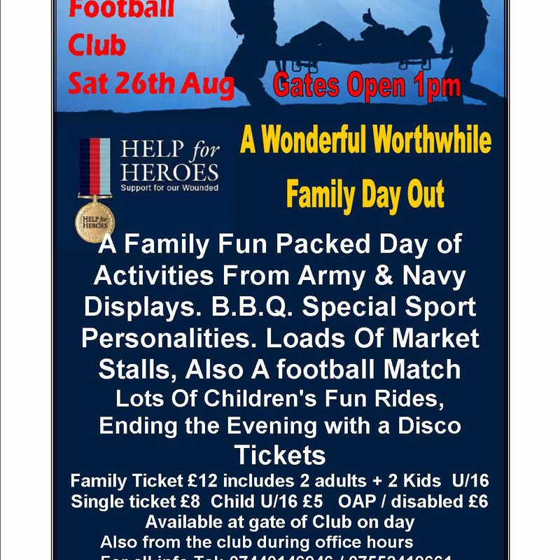 HELP THE HEROES EVENT