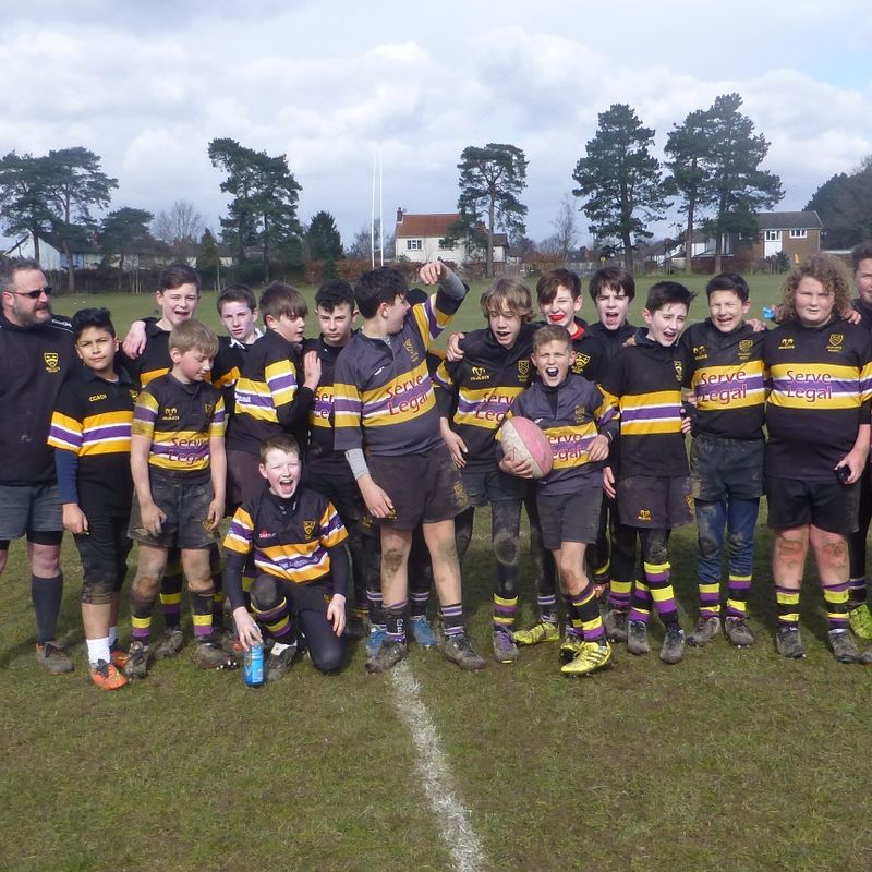Old Cats Under 14 Vs Reigate