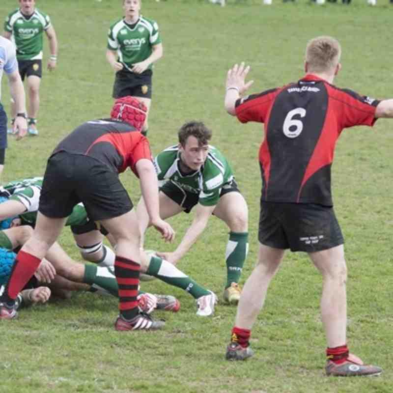 1st XV v Sidmouth - 21st March 2015