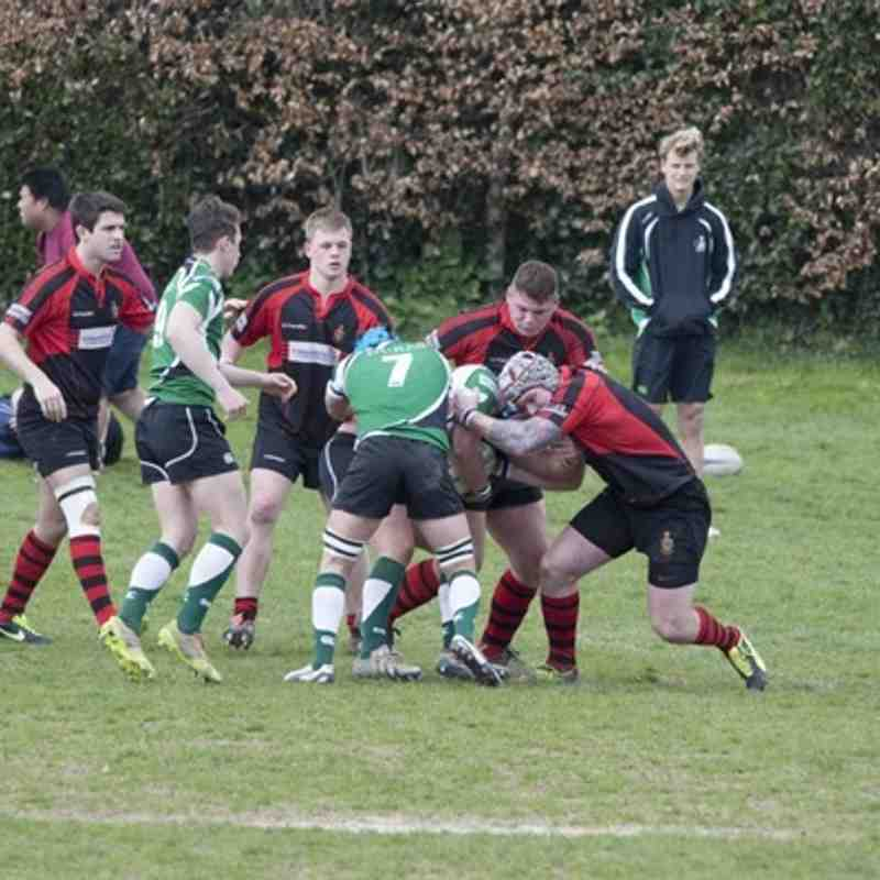 1st XV v Sidmouth - 21st March 2015