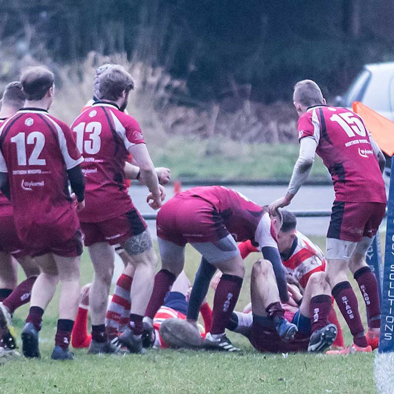 Rossendale 2nds V Vale of Lune 13012017