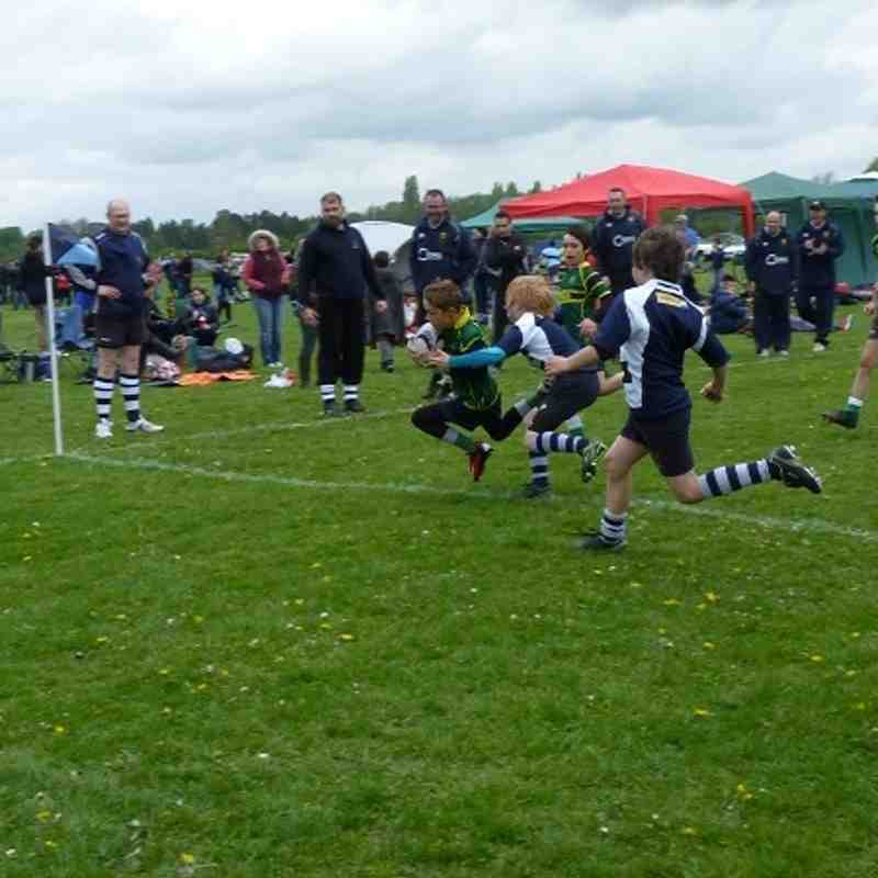 Under 11s at St Neots 2014