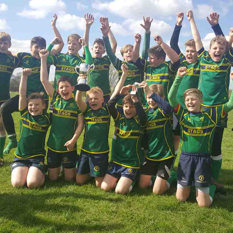 Under 12s Wasps Land Rover Cup Winners